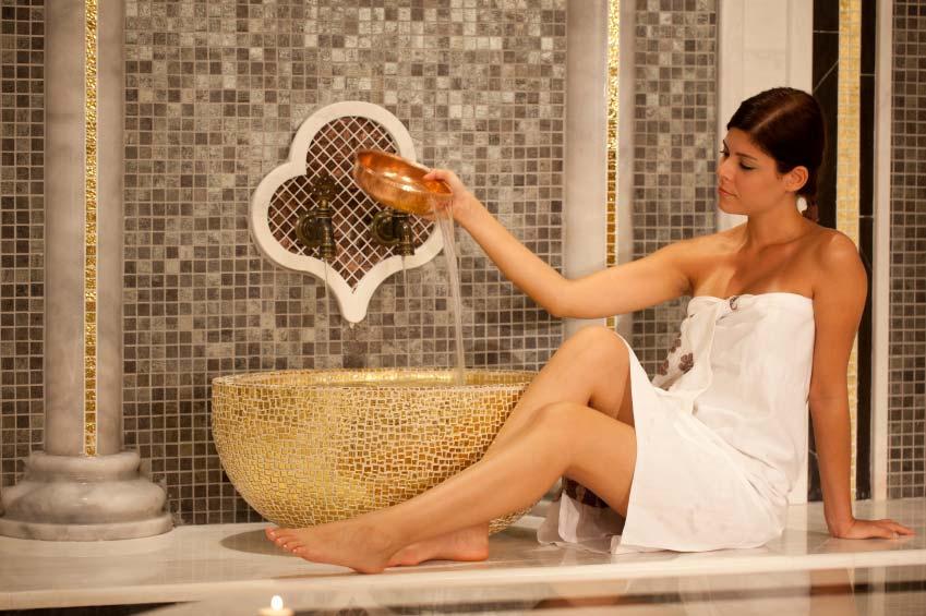 esempi di bagno turco hammam per il tuo centro benessere personale