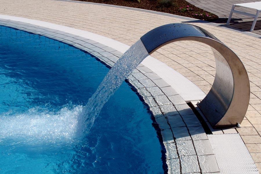 Giochi d 39 acqua - Cascate per piscine ...